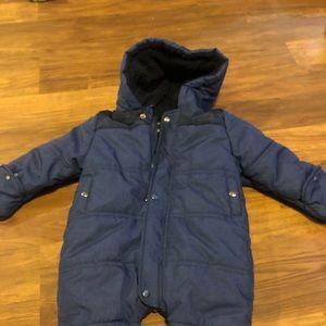 Nautica 6/9m snow suit